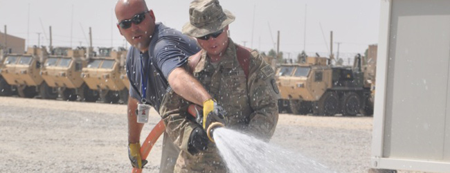 U.S. Troops Train With The TRI-MAX 30 CAF System In Afghanistan